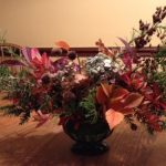 Foraged Fall Centerpiece