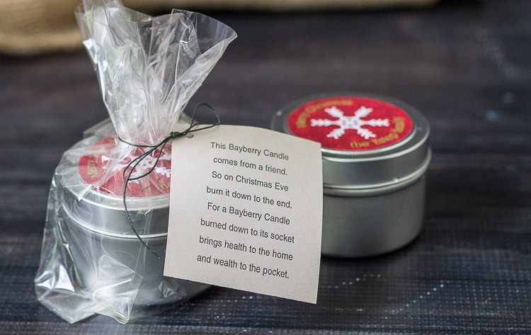 """Bayberry candles were made from real berries in Colonial times and were considered """"Good Luck."""" Learn how to make them and the special good luck saying."""