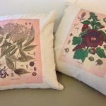 Botanical Print Pillows