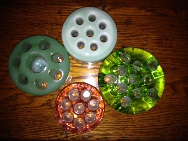 Flower Frog Assortment ~ gardenmatter.com