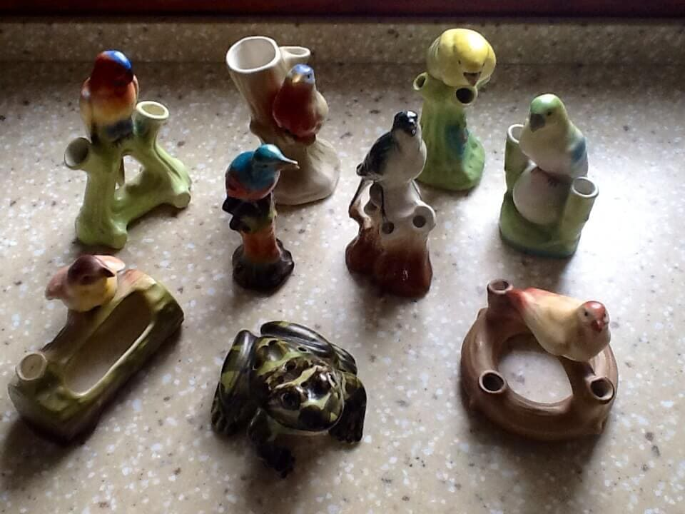 Czech & German & Figurine Frogs. And the frog from Zanesville, OH