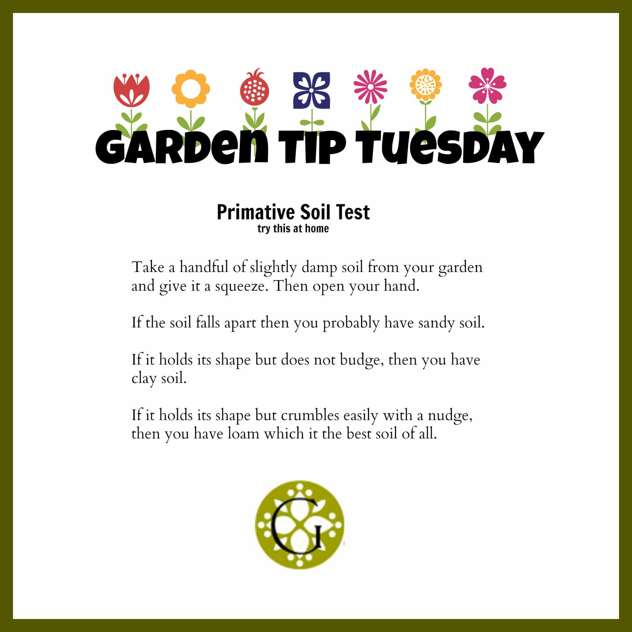 Garden TipTuesday  Soil Test