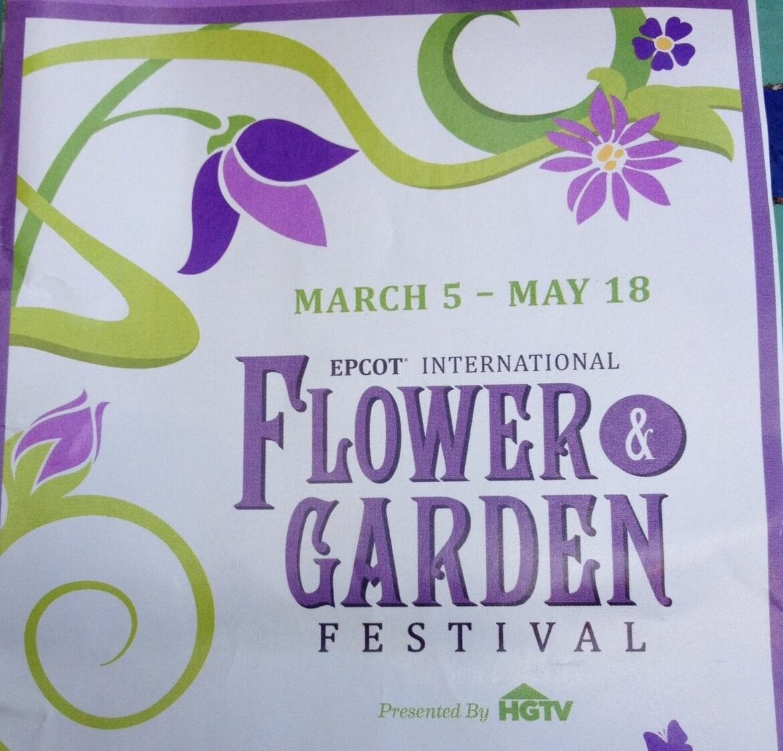Epcot Flower Garden Festival