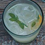 Basil Vodka Gimlet