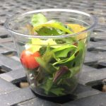 Baby Green Salad in a Cup