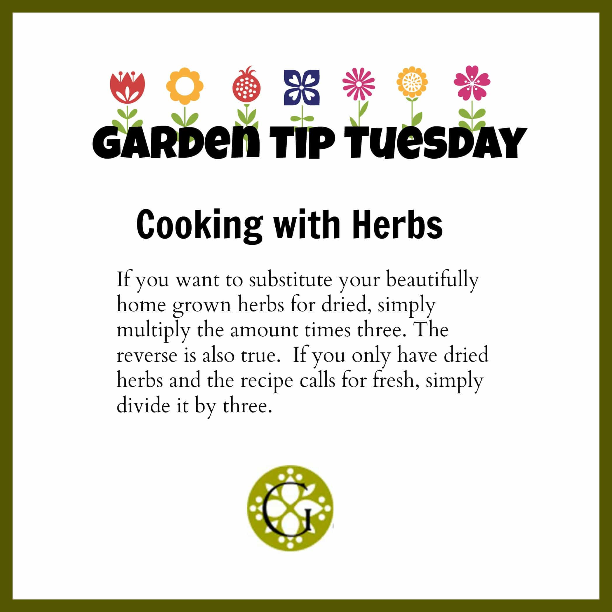 Garden Tip Herbs