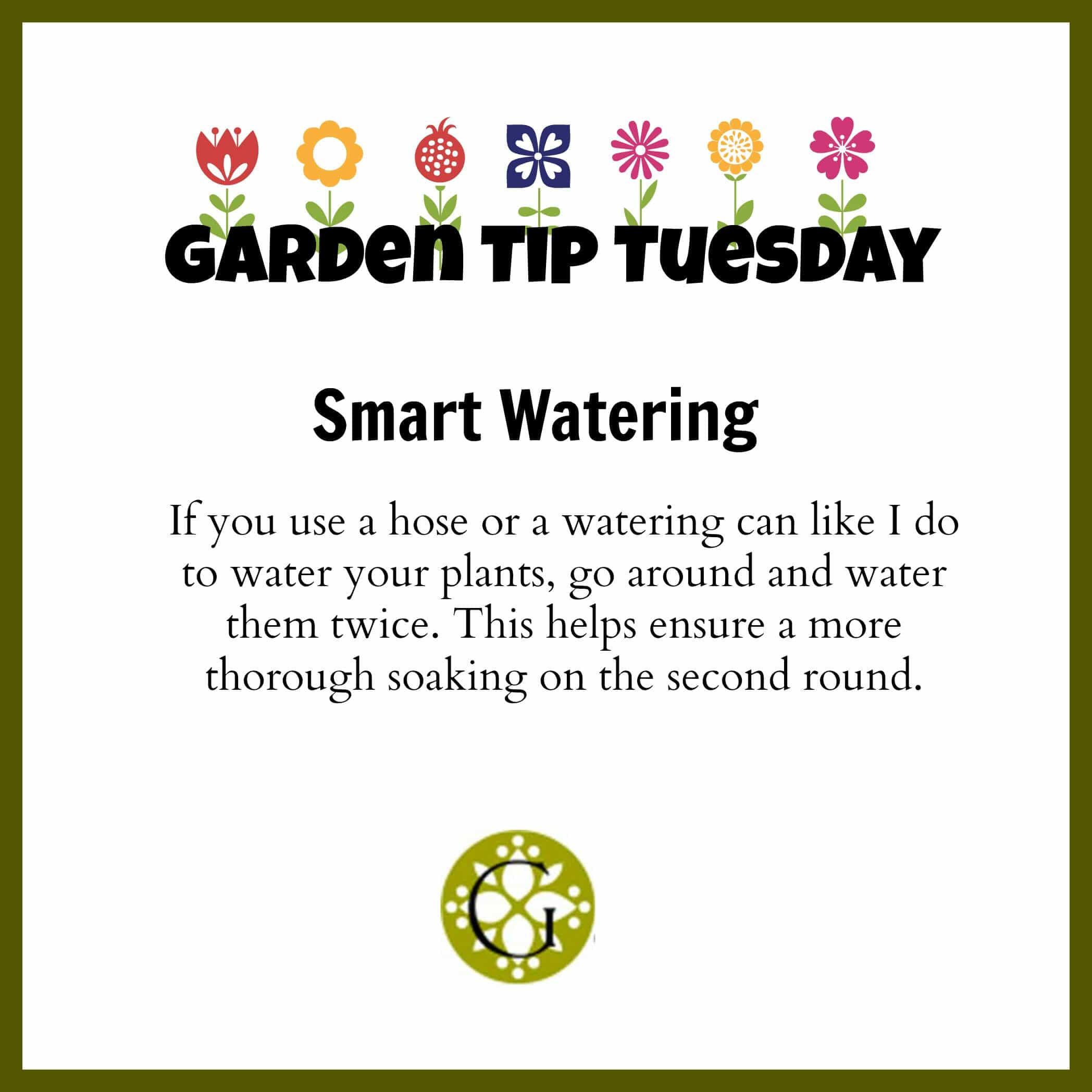 Garden Tip Watering