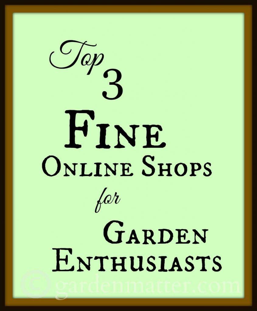 Garden shops