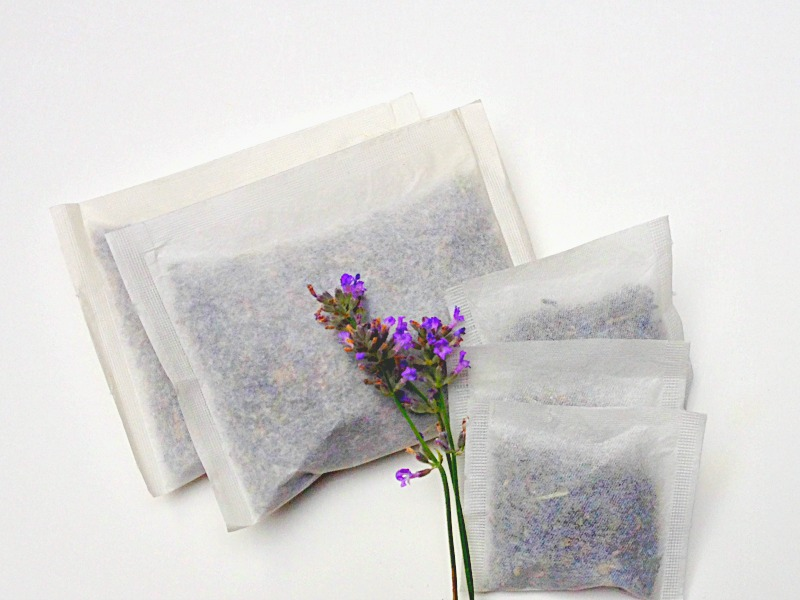 Lavender tea bags to help you sleep.