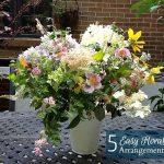 5 Flower Arrangements - gardenmatter.com