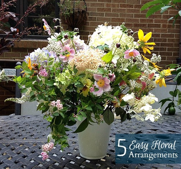 5 Easy Summer Flower Arrangements
