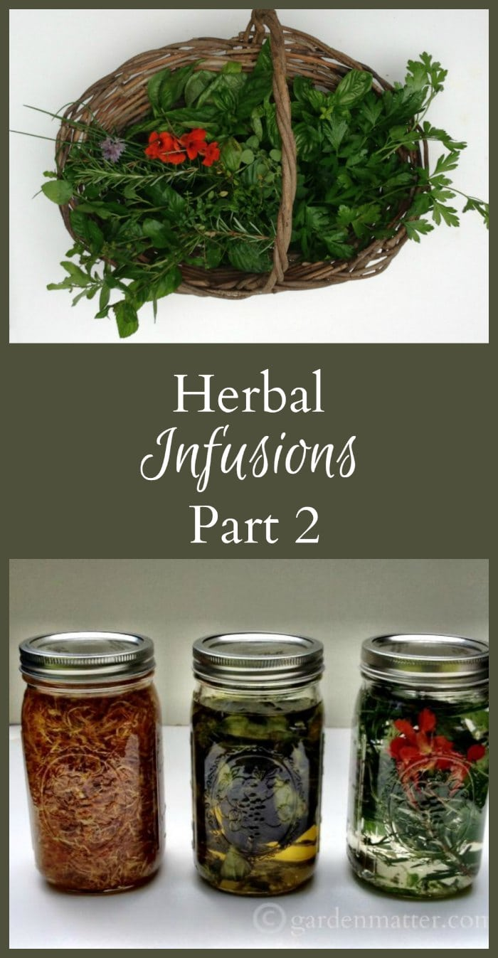Herbal Infusions Oils & Vinegars