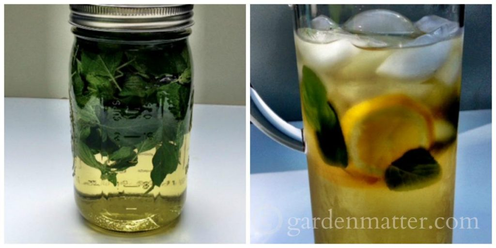 Learn how to make herbal tea from herbs in your backyard.