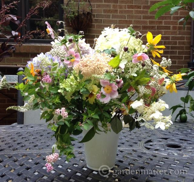 cottage arrangement ~ gardenmatter.com