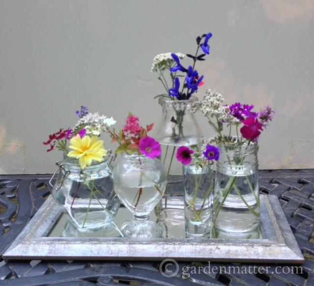 Single Flower Arrangments ~ gardenmatter.com