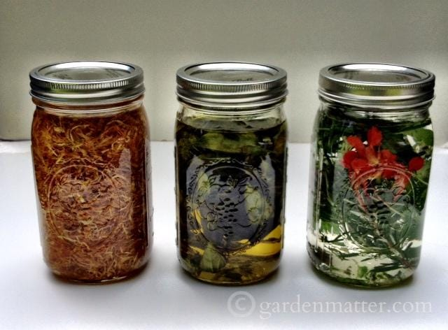 Herbal oils are great for cooking and beauty treatments.
