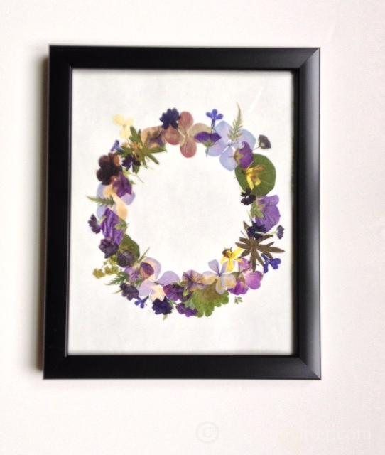 Pressed Flower Wreath
