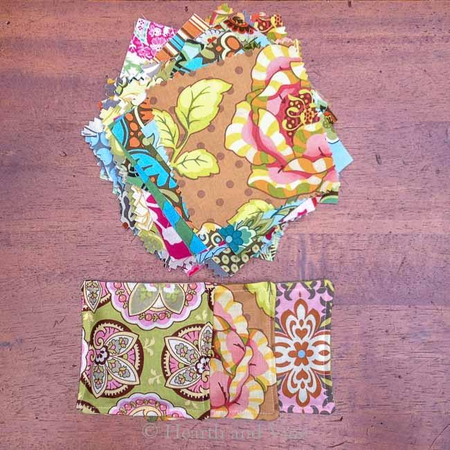 Quilter squares and mug mats