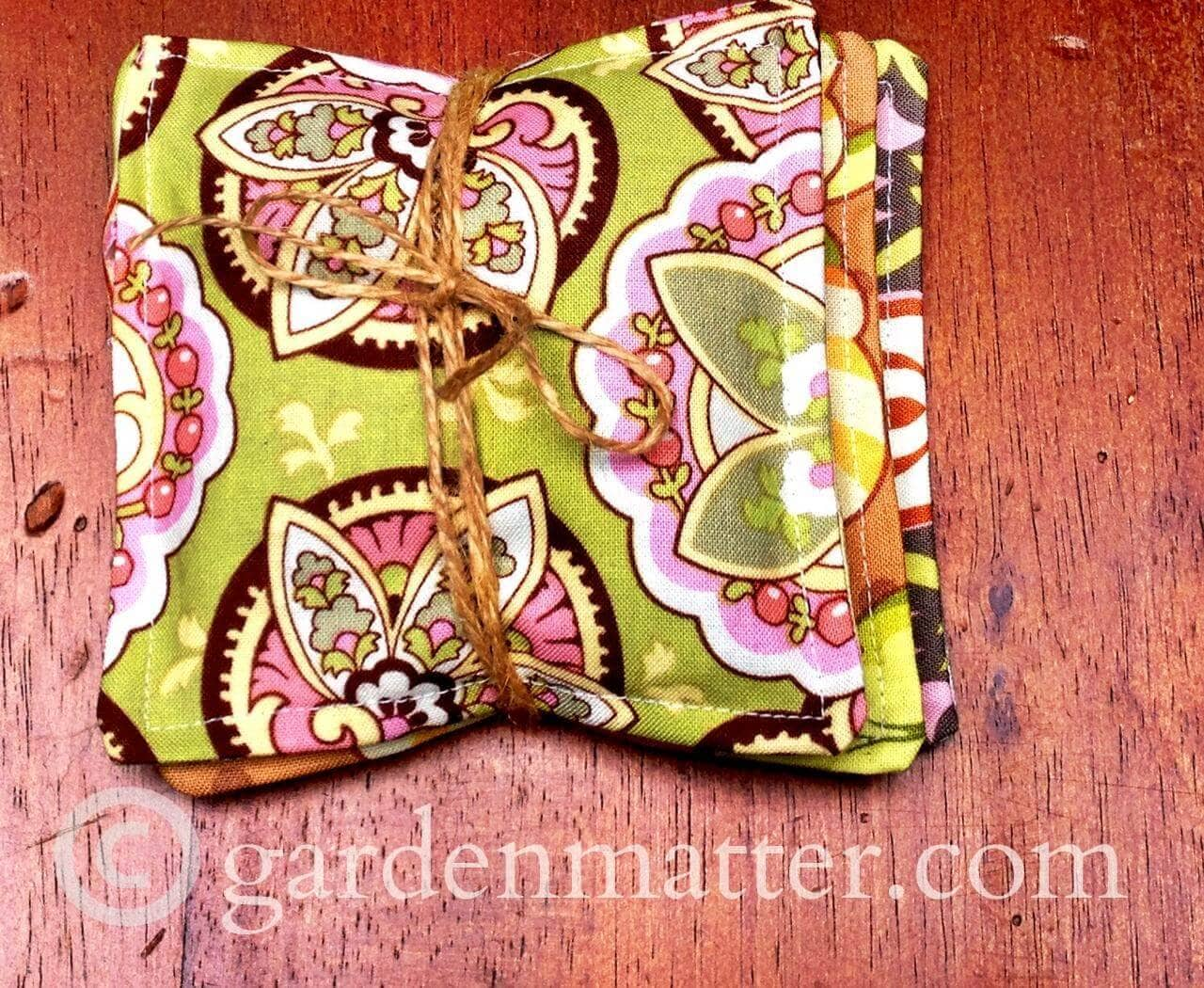 Scented Mug Mats ~ Top 10 posts of 2015 ~ gardenmatter.com