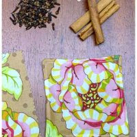 Scented mug mats and spices