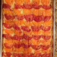 Harvest Tomato Pie