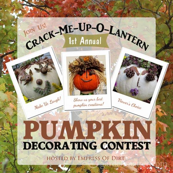 Crack-Me-Up-O-Lantern Pumpkin Decorating Contest