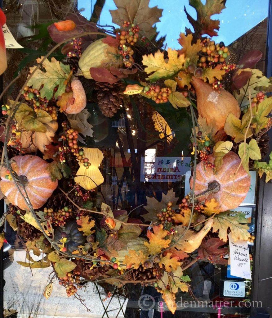 Fall Wreath - Strip District gardenmatter.com