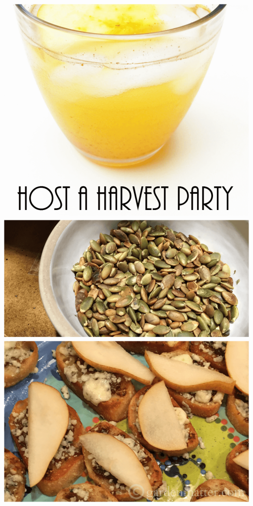Check out some great idea on how to throw a great harvest party with decorating tips, recipes including a fun way to include your friends in a recipe.