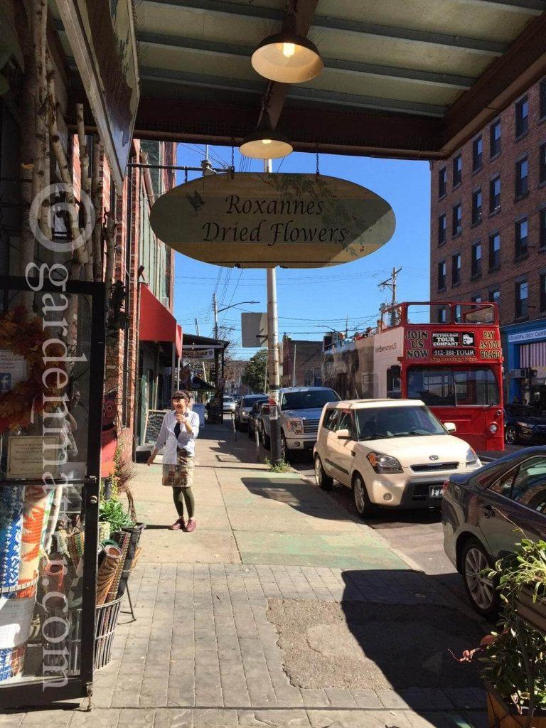 Roxanne's in the Strip District ~ gardenmatter.com