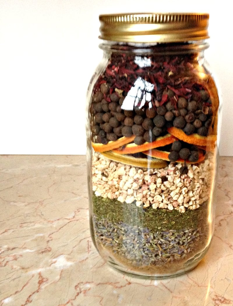 Learn how to make Layered Potpourri Jars. They are easy and fun to make with your friends and make great gifts. Get a group together to share the costs.