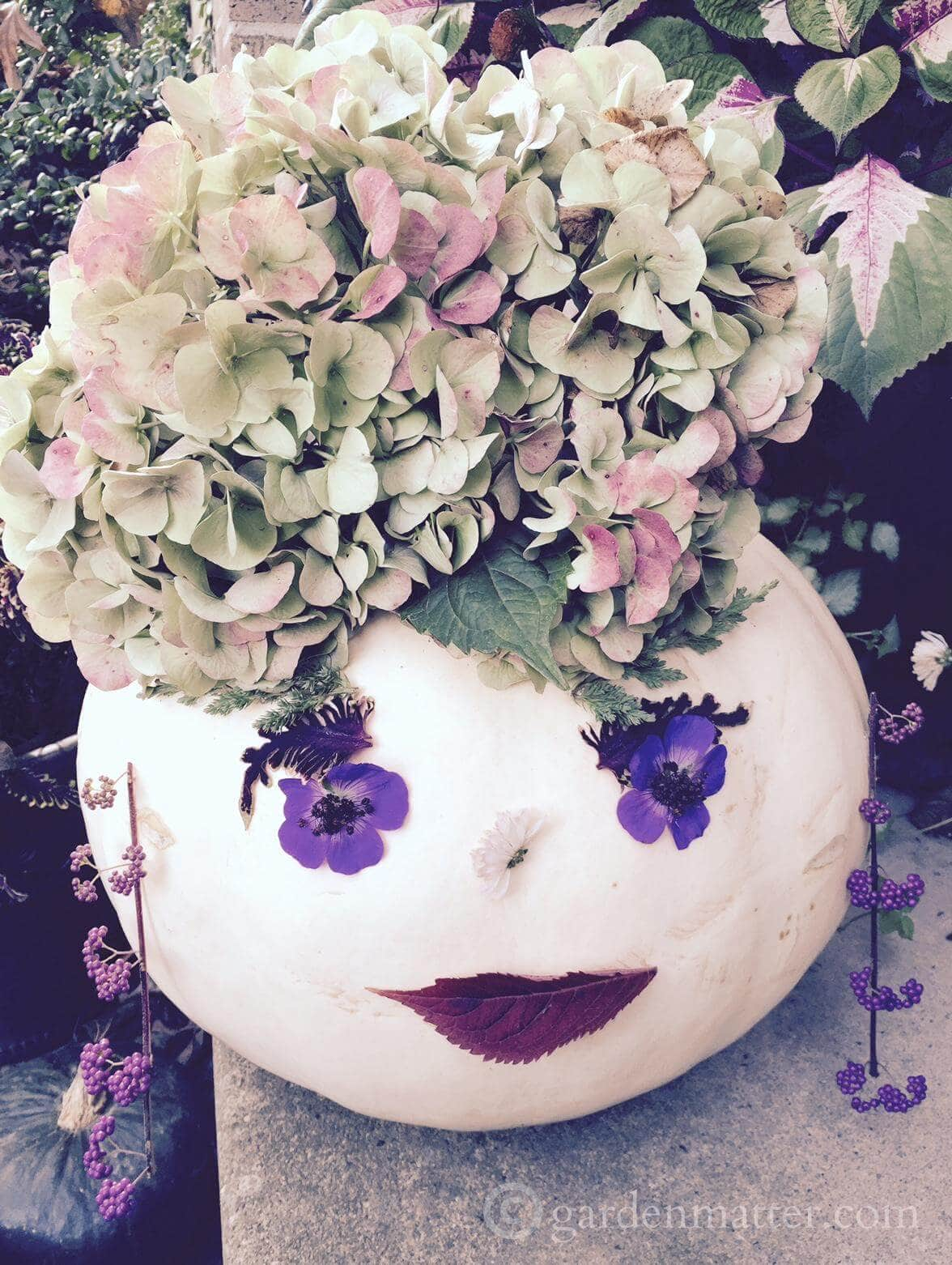 Priscilla Pumpkinhead - decorating contest