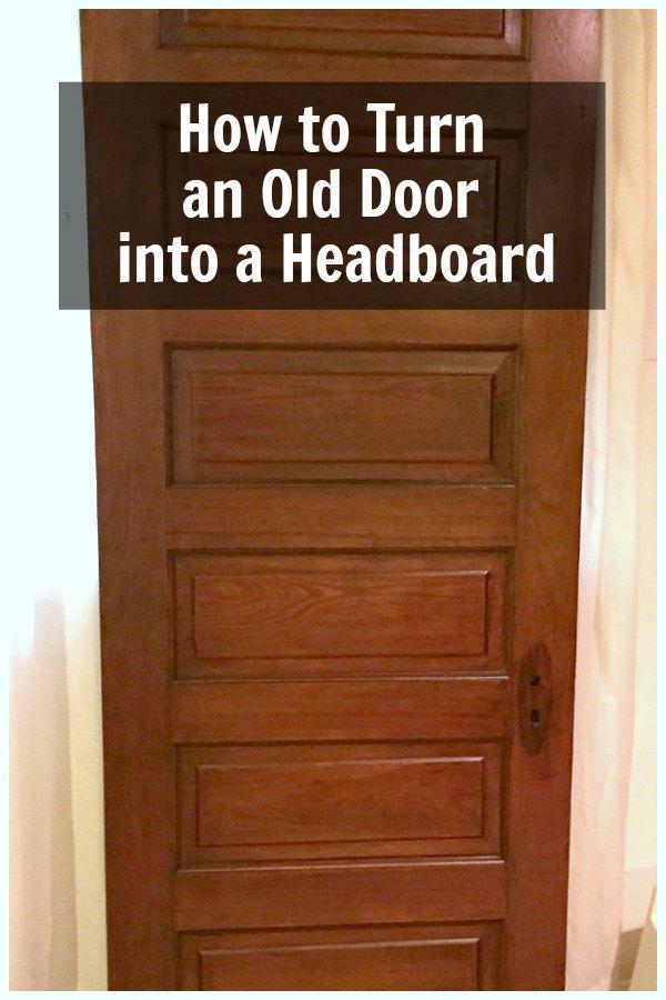 Wood antique door