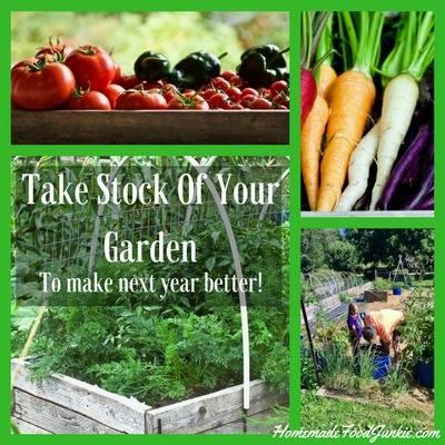 Take stock of the garden