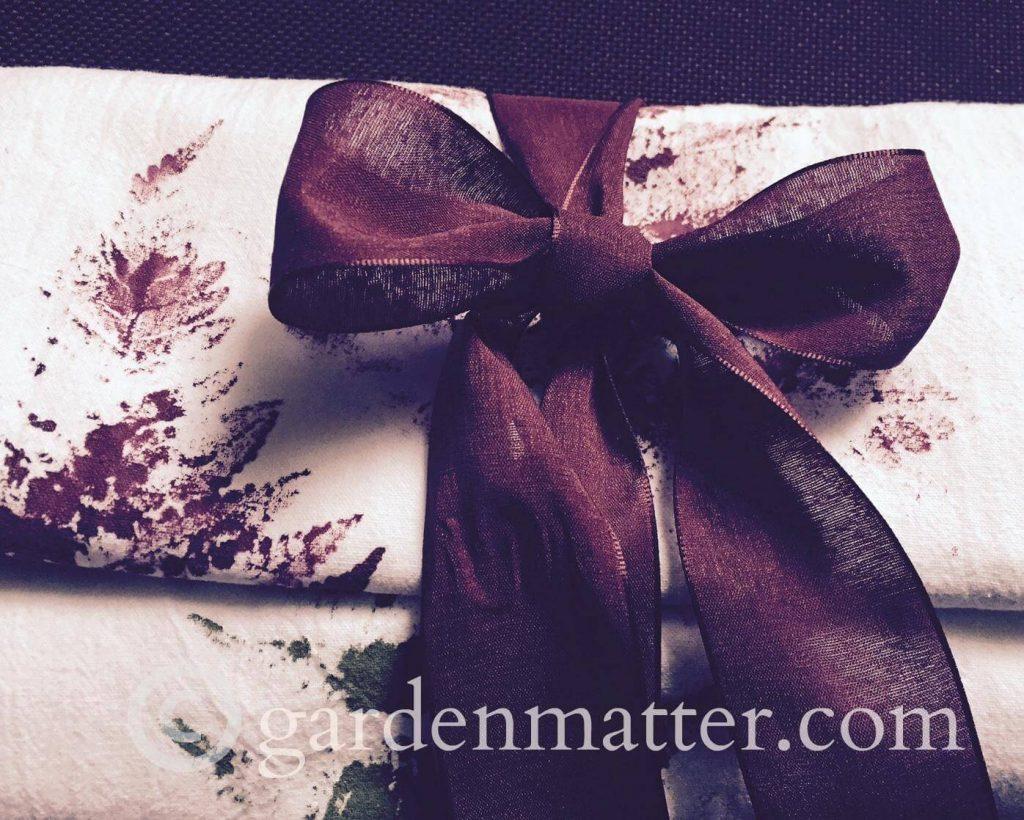 Handmade Gifts: Fern Printed Tea Towels