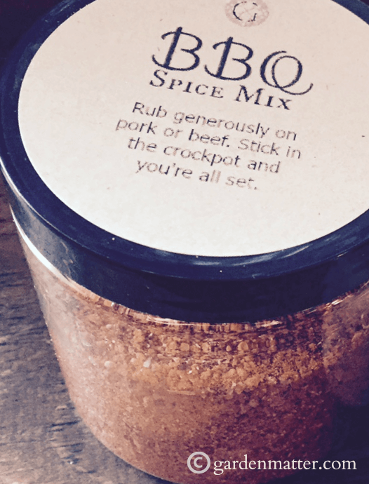 Homemade Barbecue Spice Mix