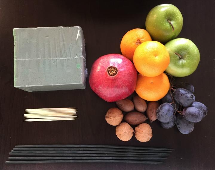 Edible centerpiece supplies