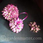 rosebud ornaments