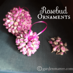 Rosebud Ornaments