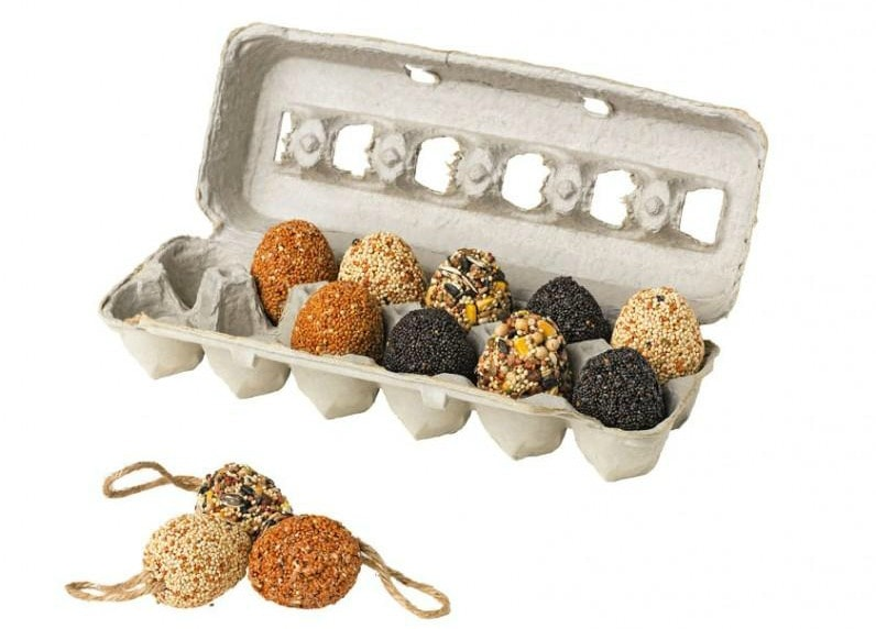 Bird Seed Eggs