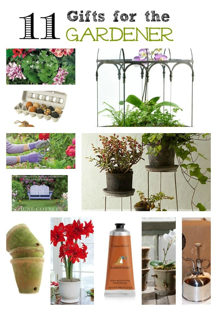 Garden Gift Guide collage