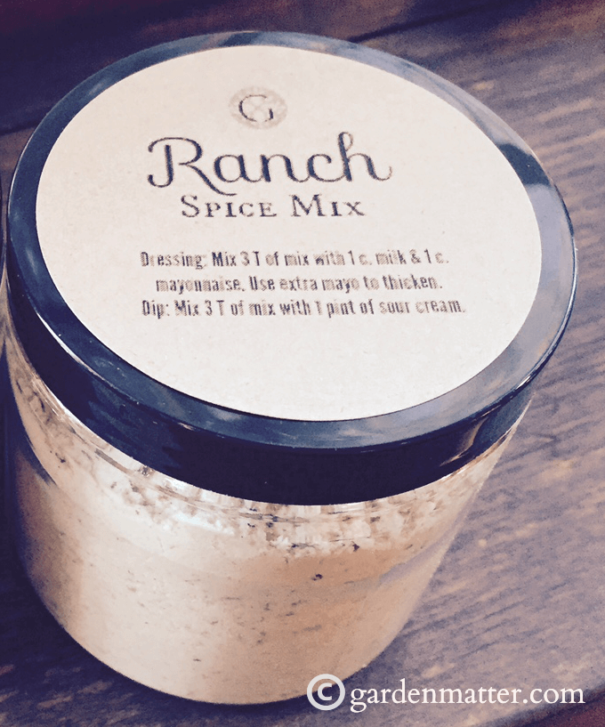 Ranch Spice Mix