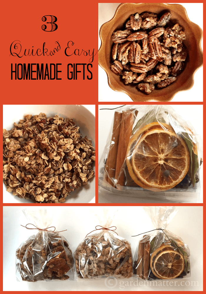 3 quick & easy homemade gifts