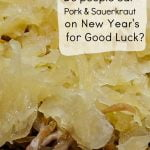 Roasted pork and sauerkraut