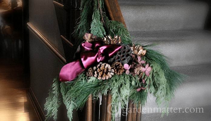 Staircase Christmas Decorations