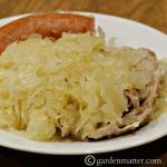 Pork & Sauerkraut with Kielbasa