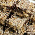 Salted Caramel Chocolate Pecan Pretzel Bars ~ gardenmatter.com
