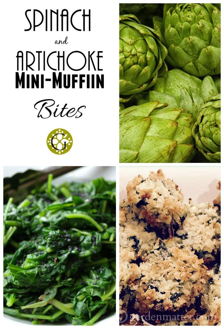 Spinach & Artichoke Mini Bites