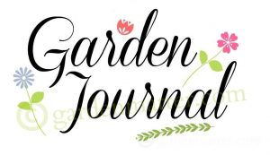 Garden journal watermark