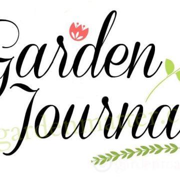 Garden journal watermark