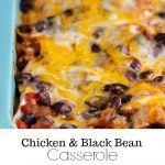 Mexican Casserole with Chicken and Black Beans